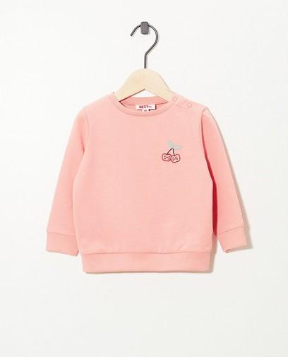 Roze sweater BESTies