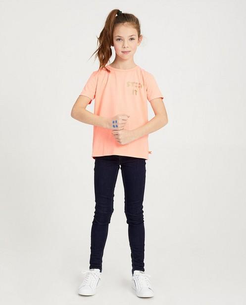 Fluoroze STIP IT-shirt Ketnet - van biokatoen - Ketnet