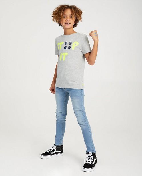 Grijs STIP IT-shirt Ketnet - tegen pesten - Ketnet