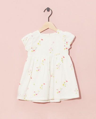 Witte jurk + pamperbroekje Feest
