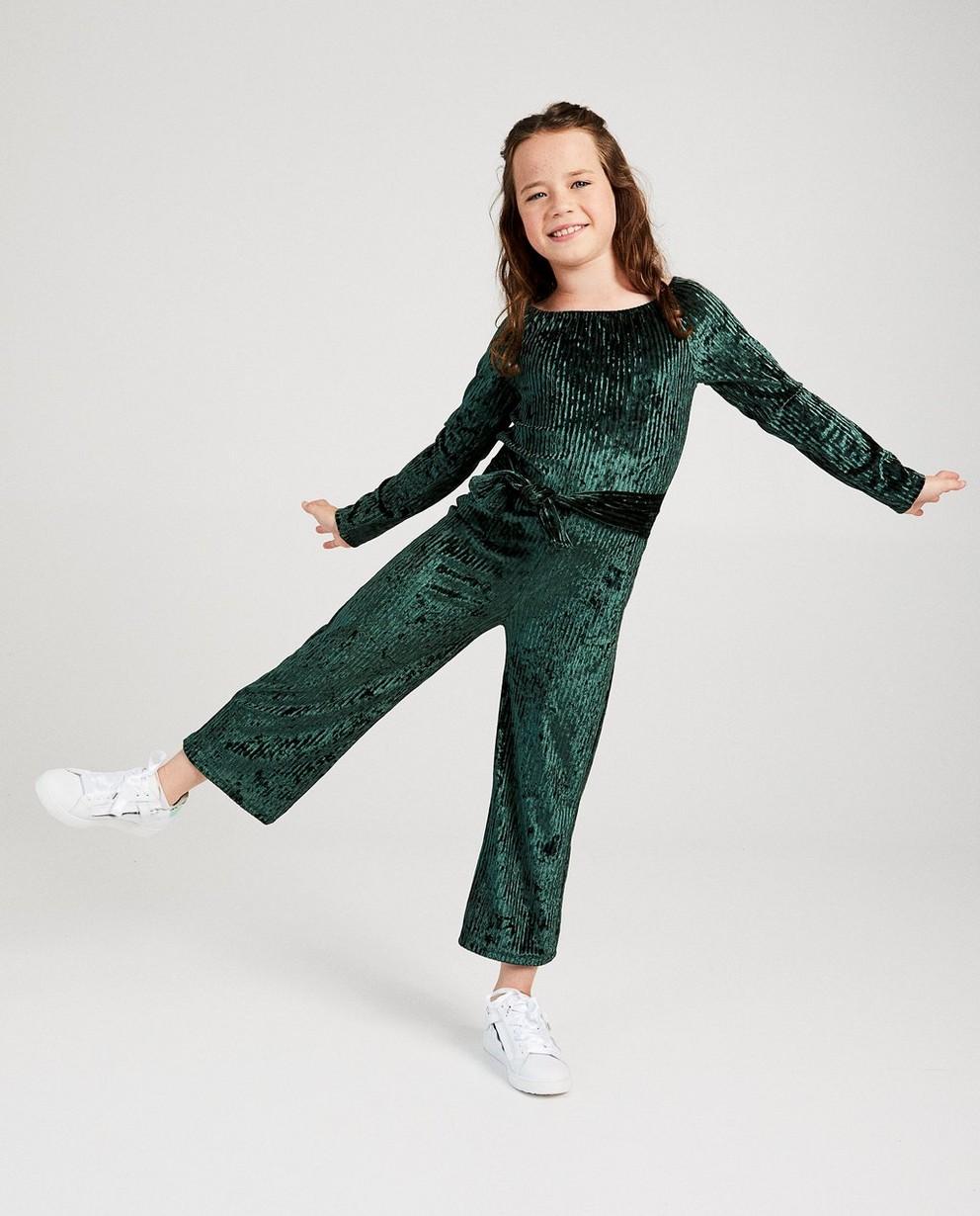 Jumpsuit mit Streifen Ella Italia - aus Samt - ella