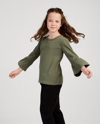 T-shirt kaki Ella Italia