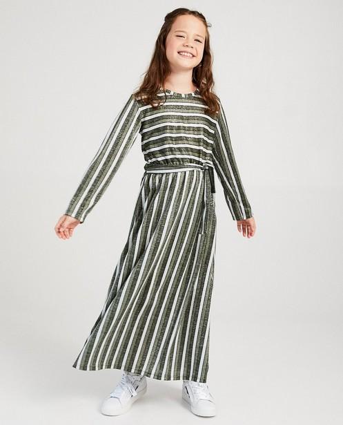 Robe maxi à rayures Ella Italia - et fil métallisé - Ella Italia