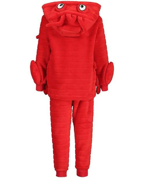 Pyjamas - Rode pyjama van fleece