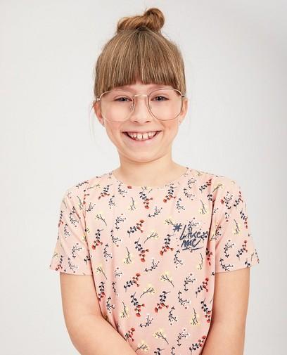 T-shirt rose en coton bio #LikeMe