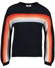 Pulls - Witte trui met strepen