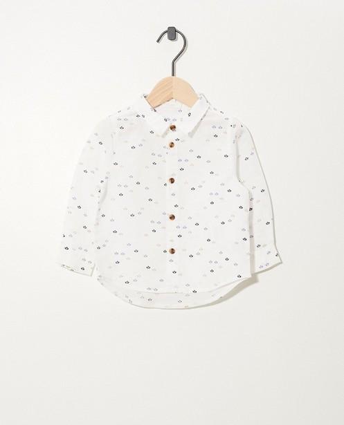 Chemise blanche en lin Fête - premium - cudd