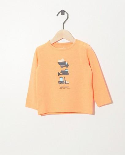 oranje t-shirt kinderen