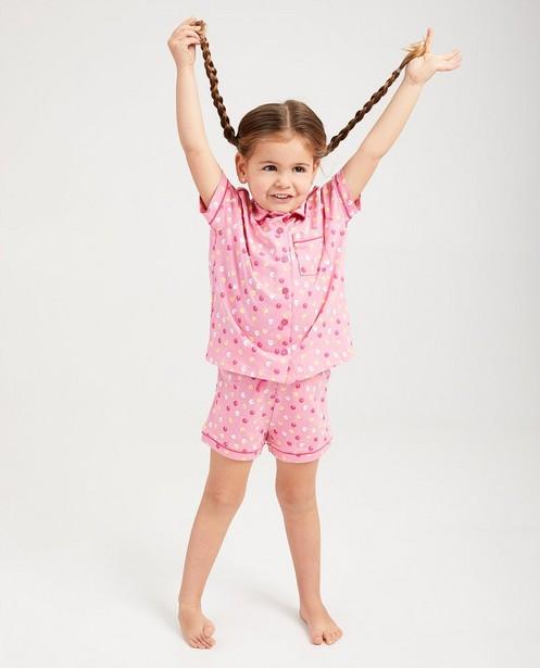 Pyjama imprimé De Fabeltjeskrant - rose - fabe
