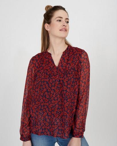 Rood gebloemde blouse Youh!