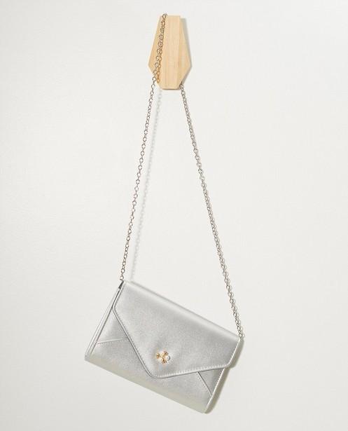Sac argenté Communion - sac bandoulière + sac à main - JBC