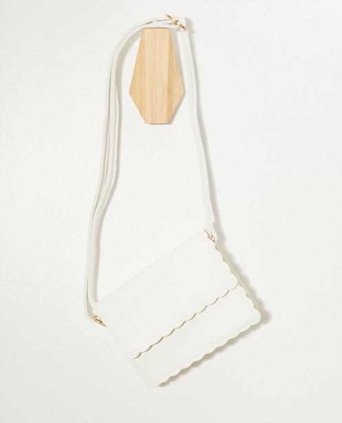 Handtassen - Wit schoudertasje Communie