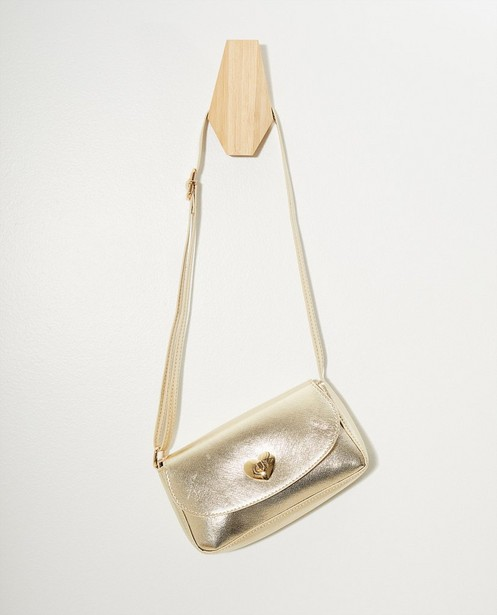 Handtassen - Goudkleurig schoudertasje Communie