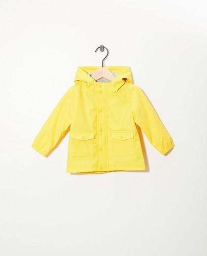 Waterafstotend geel jasje