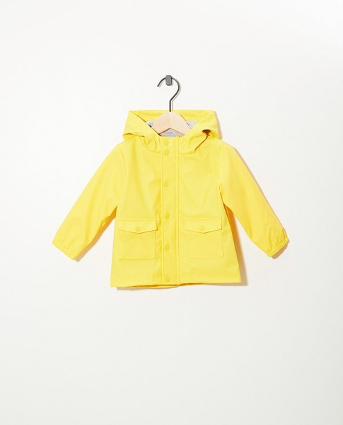 Waterafstotend geel jasje - null - Cuddles and Smiles