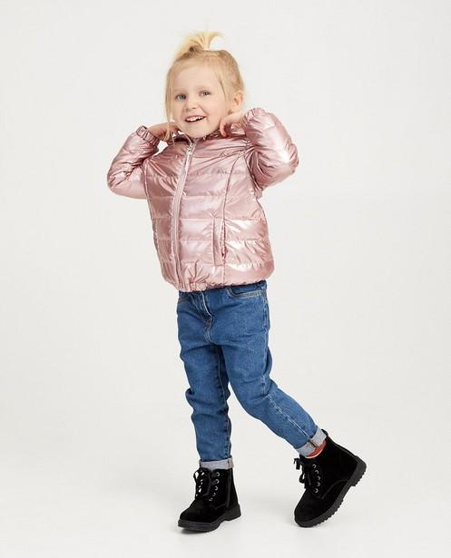 Waterafstotende roze jas - null - Milla Star