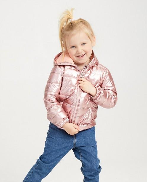 Zomerjassen - Waterafstotende roze jas