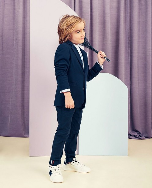Pantalon bleu Communion - Chic ou cool mais confortable - kidz
