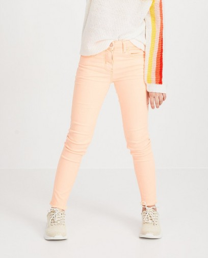 Oranje skinny MARIE, 7-14 jaar