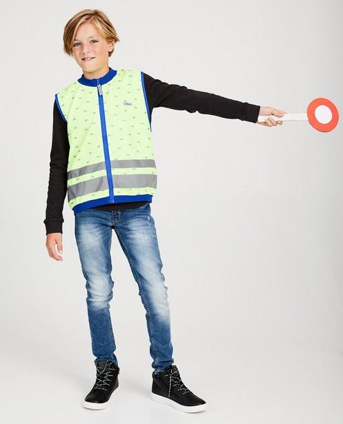 Veiligheidshesje Gofluo, 7-14 jaar - reflecterend - fluo