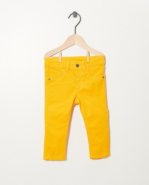 Gele broek - met verstelbare taille - cudd