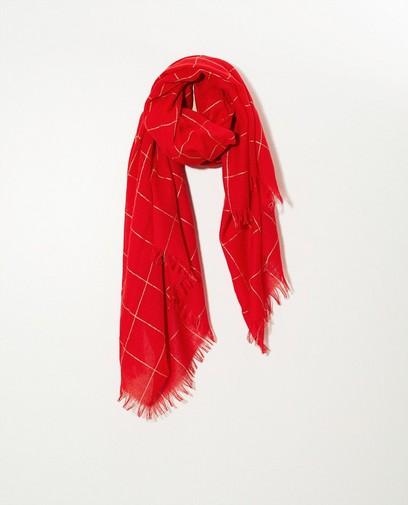Sjaal met metaaldraad Pieces