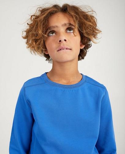 Blauwe sweater Nachtwacht