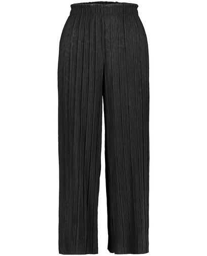 Zwarte plissé-broek