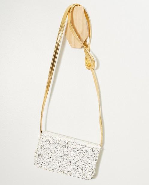 Handtassen - Schoudertasje met glitter Communie
