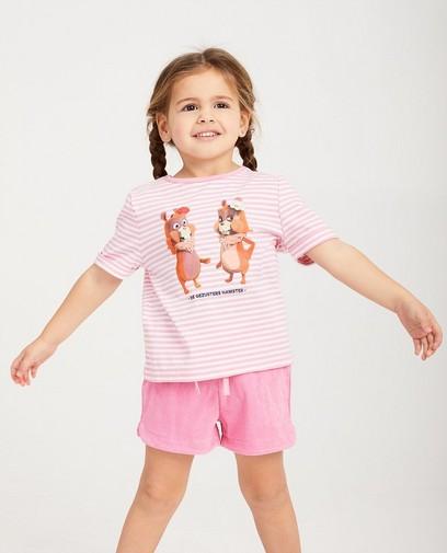 Pyjama rose De Fabeltjeskrant