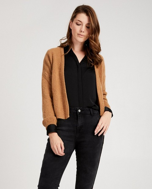 Cardigans - brown - Pull brun clair Ella Italia