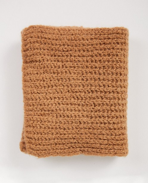 Bonneterie - brown - Écharpe beige Ella Italia