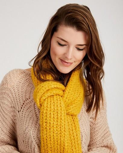 Gele sjaal Ella Italia