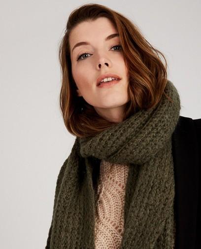 Groene sjaal Ella Italia