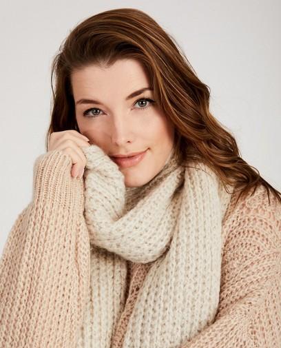 Beige sjaal Ella Italia