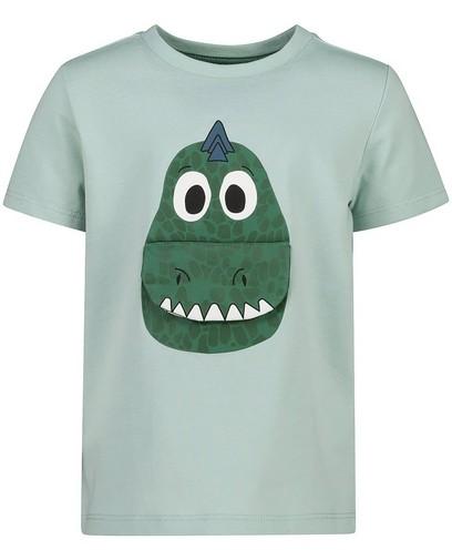 Groen verjaardagsshirt met print