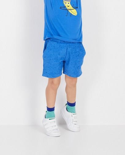 Sponzen short in blauw BESTies