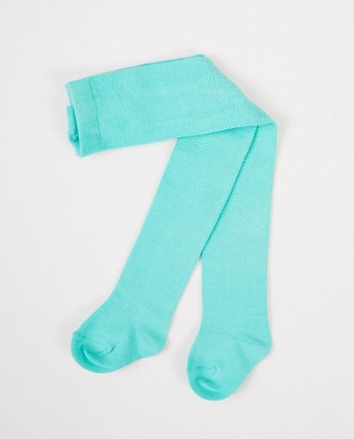 Chaussettes - Groenblauwe kousenbroek