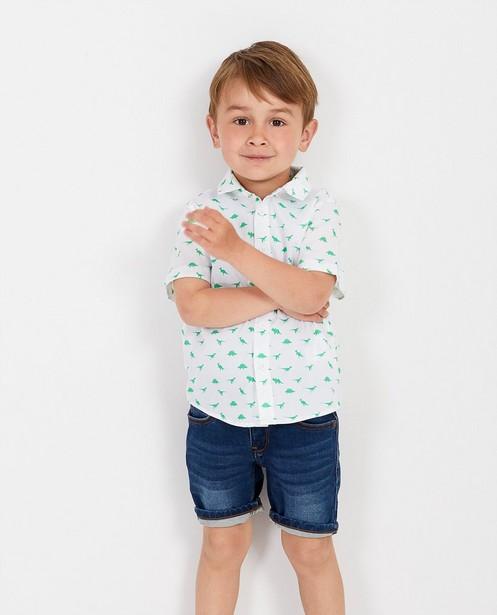 Hemden - Wit hemd met print BESTies