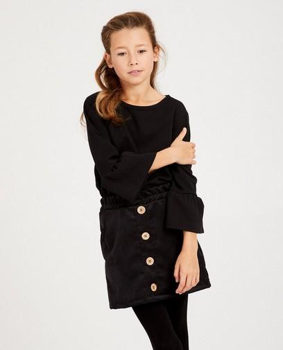Zwarte blouse Ella Italia