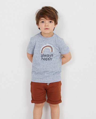Graues T-Shirt mit Aufschrift Biene Maja