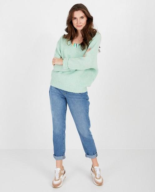 Jeans Mom bleu Karen Damen - null - Karen Damen