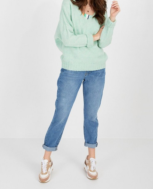 Jeans - Jeans Mom bleu Karen Damen