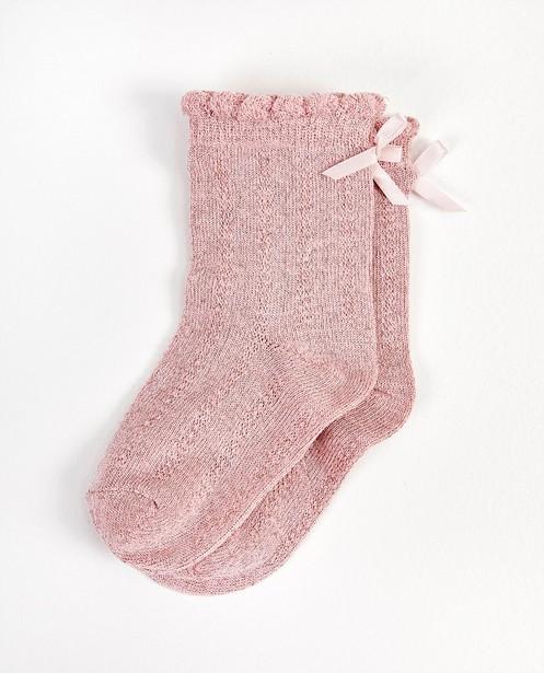 Chaussettes roses bébés  - premium - JBC