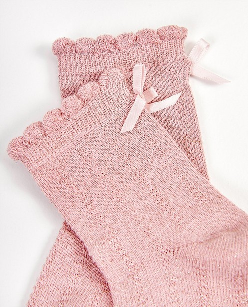 Chaussettes - light pink -
