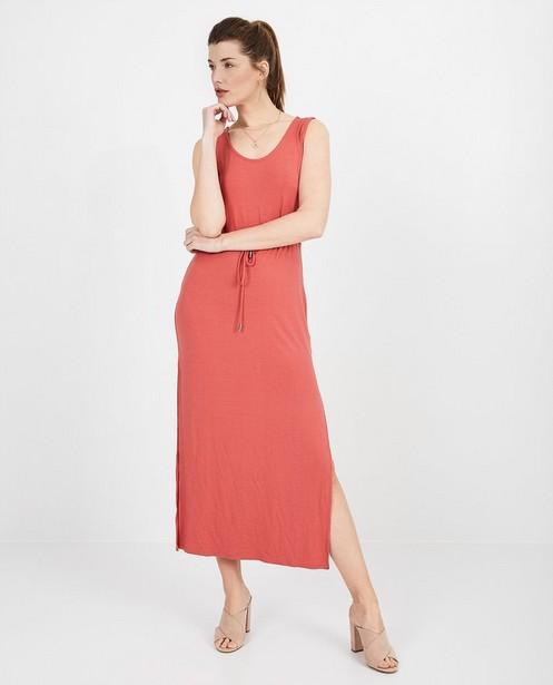 Kleedjes - Roze maxi-jurk Sora