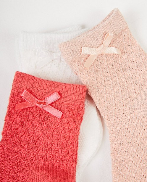 Chaussettes - rood licht -