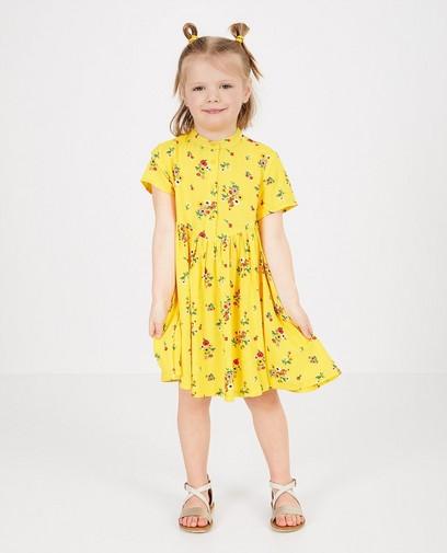Gele jurk met print K3