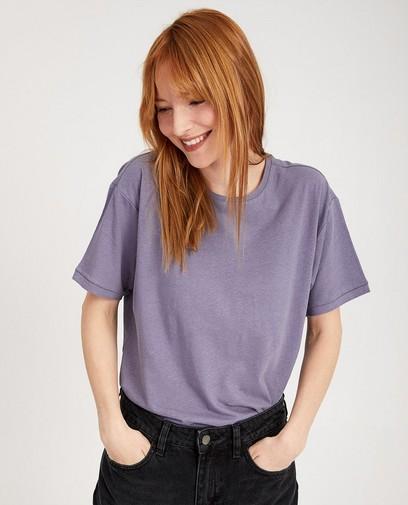 T-shirt en lin et coton bio I AM