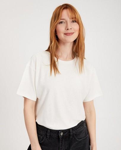 Shirt van linnen en biokatoen I AM
